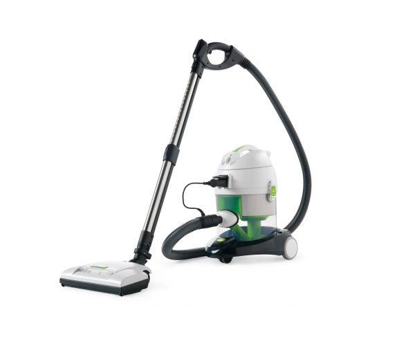 gegen Milben und Allergene - SAKURA - der Tiefenreiniger mit Elektrobürste ist besonders wirkungsvoll für Teppiche, Polster und Matratzen